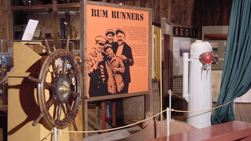 Rum Running Exhibit